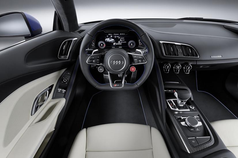 intérieur Audi R8 2015