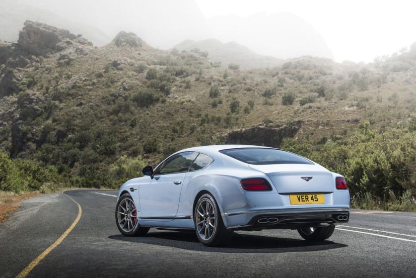 arrière Bentley Continental GT