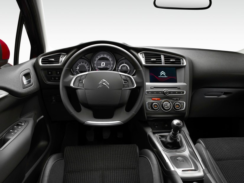 citroen C4 2015 habitacle