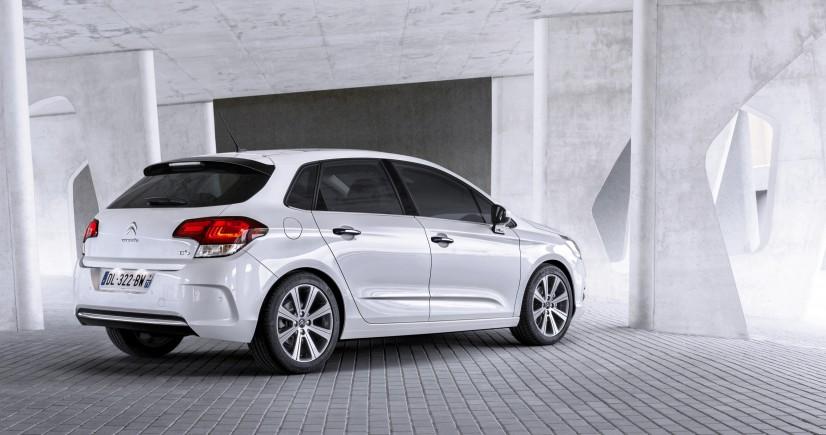 Citroën C4 2015 vue arrière