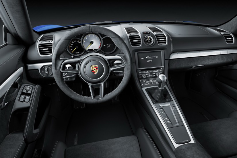 Porsche Cayman GT4 habitacle