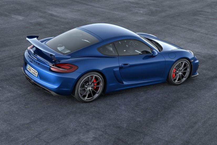 Porsche Cayman GT4 arrière