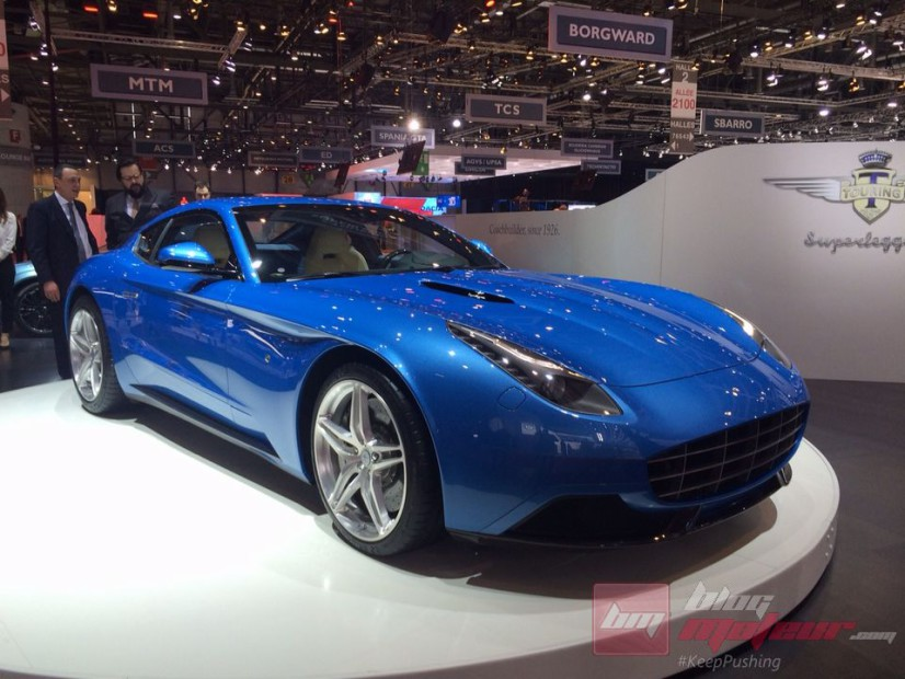 Touring Supperleggera Berlinetta Lusso