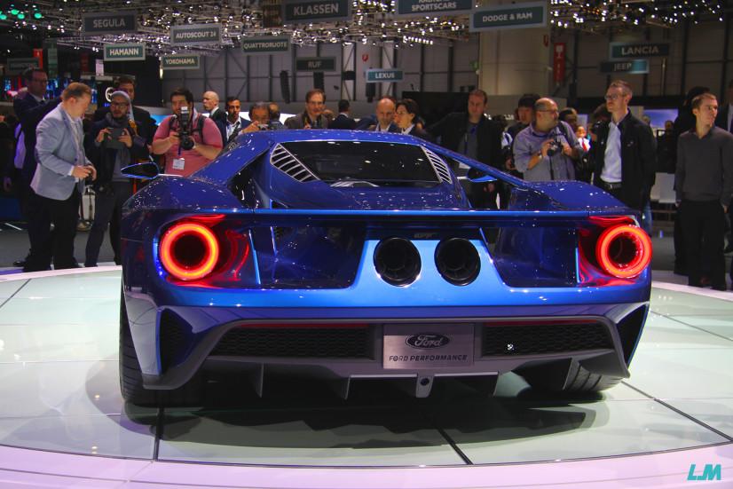 Ford GT vue arrière