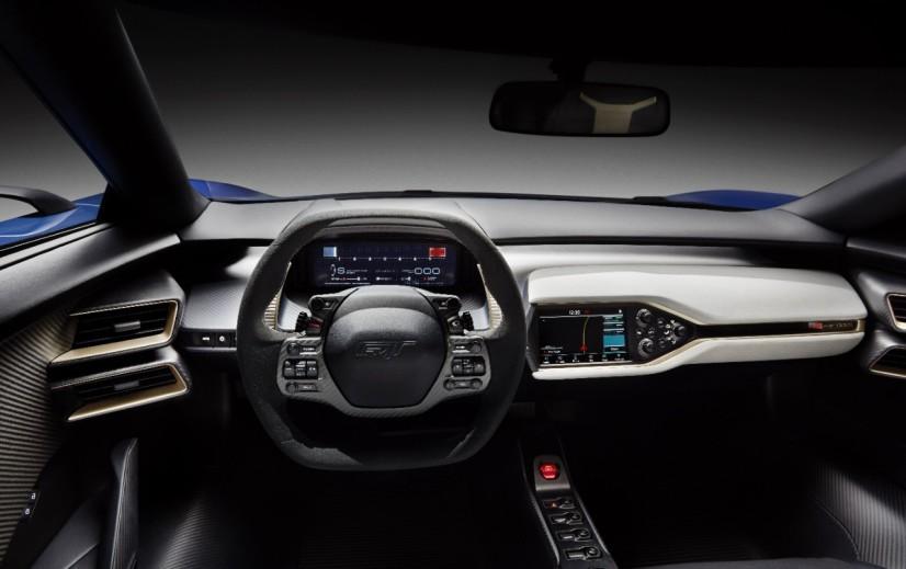 Ford GT intérieur