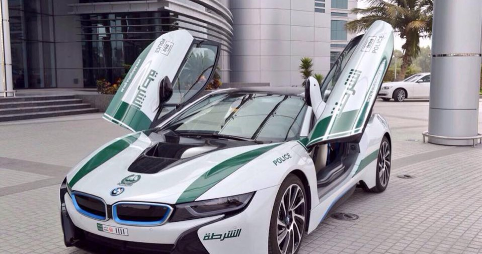 Bmw i8 Dubaï