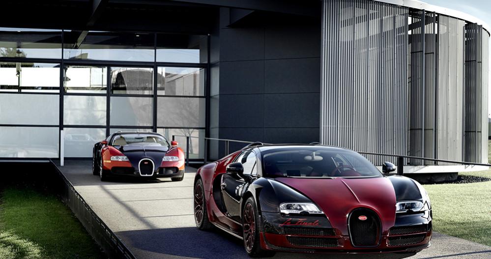 Veyron 001 et 450