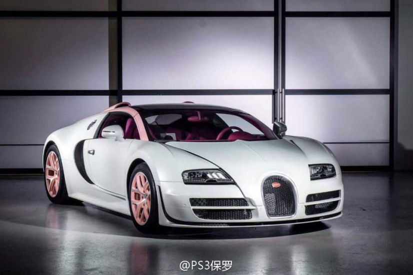 Bugatti Veyron Cristal Edition