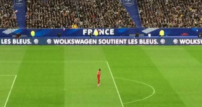 Volkswagen buzz au Stade de France