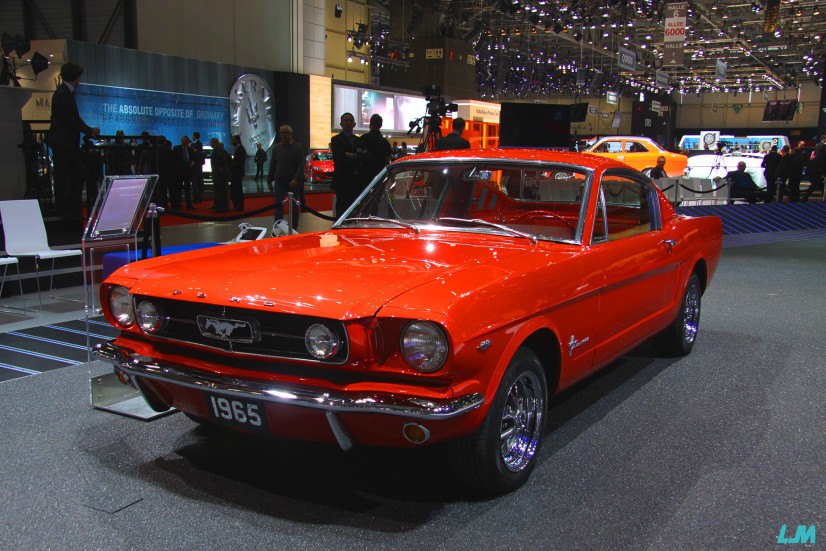 Ford Mustang 1965 Genève 2015