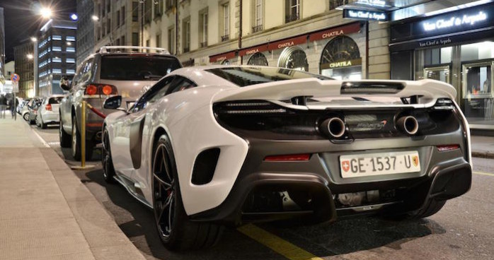 McLaren 675LT à Genève