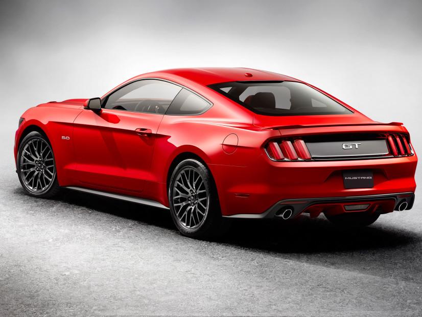 Mustang 2015 arrière