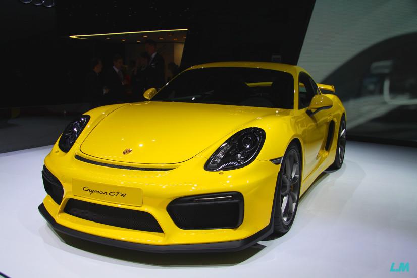 Cayman GT 4