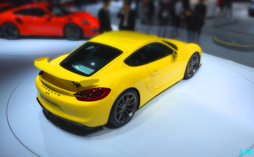 Porsche Cayman GT 4 arrière