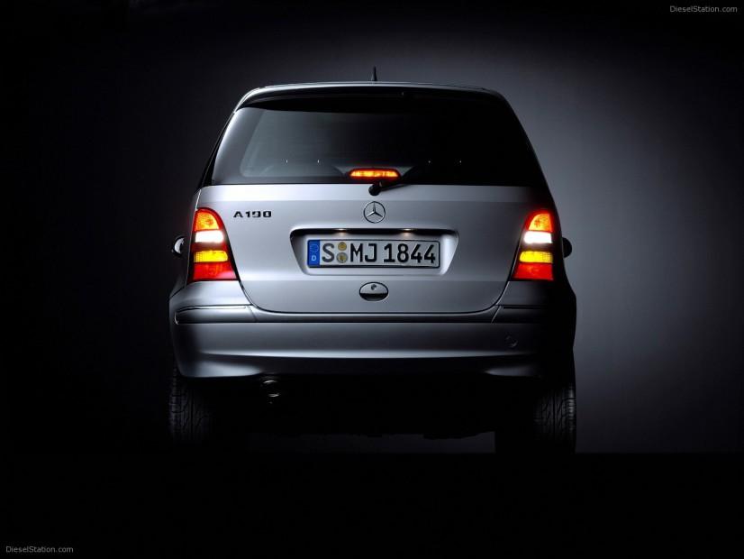 Mercedes Classe A arrière