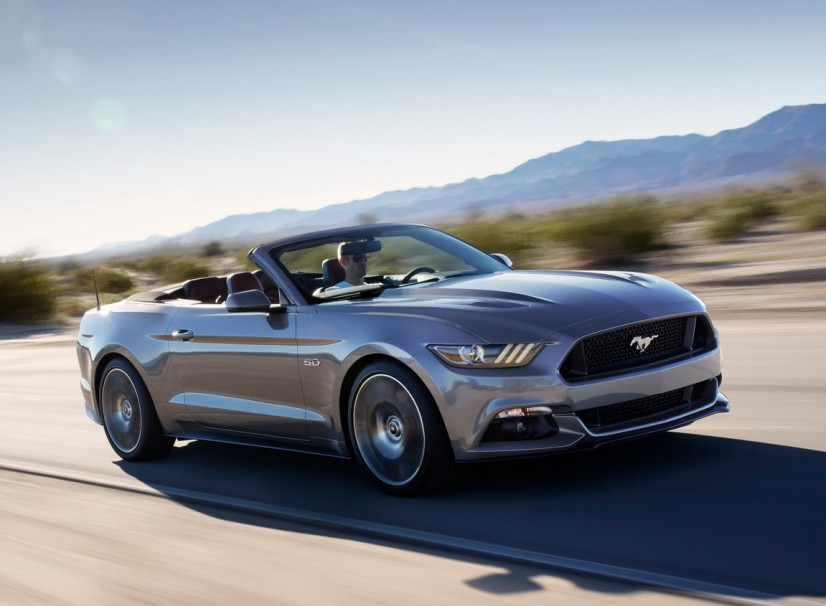 Mustang GT Cabriolet 2015
