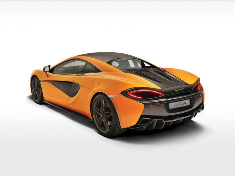 vue arrière McLaren 570s