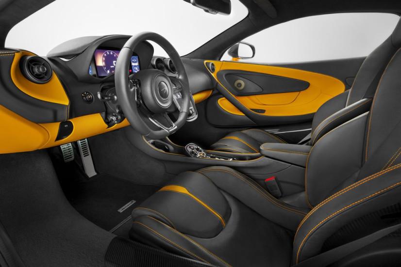 intérieur McLaren 570s