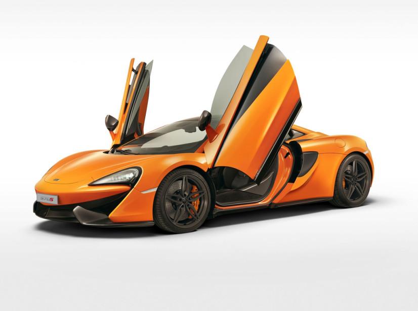 Portes ouvertes McLaren 570s