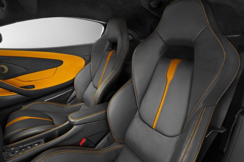 sièges McLaren 570s