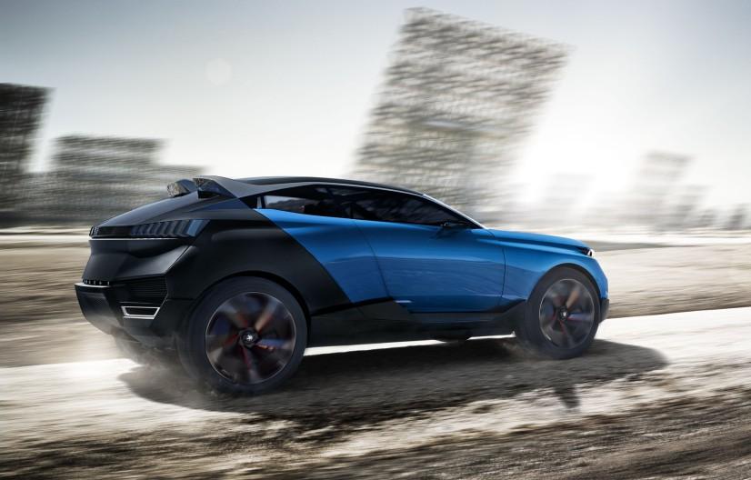 Peugeot Quartz Concept arrière