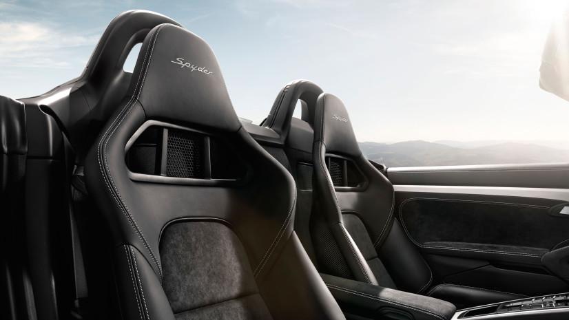 sièges Boxster Spyder