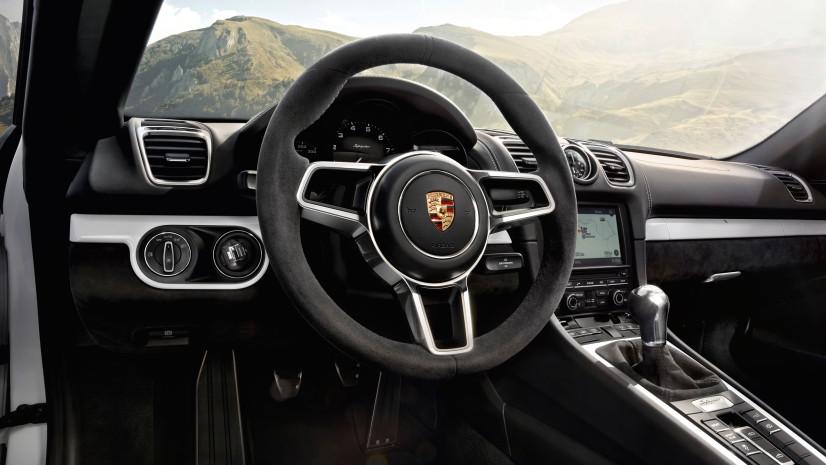 Boxster Spyder volant