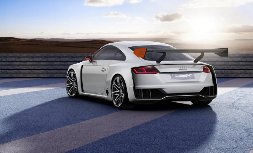 arrière Audi TT Clubsport Turbo
