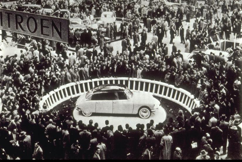 Citroën DS 1955 Mondial de Paris