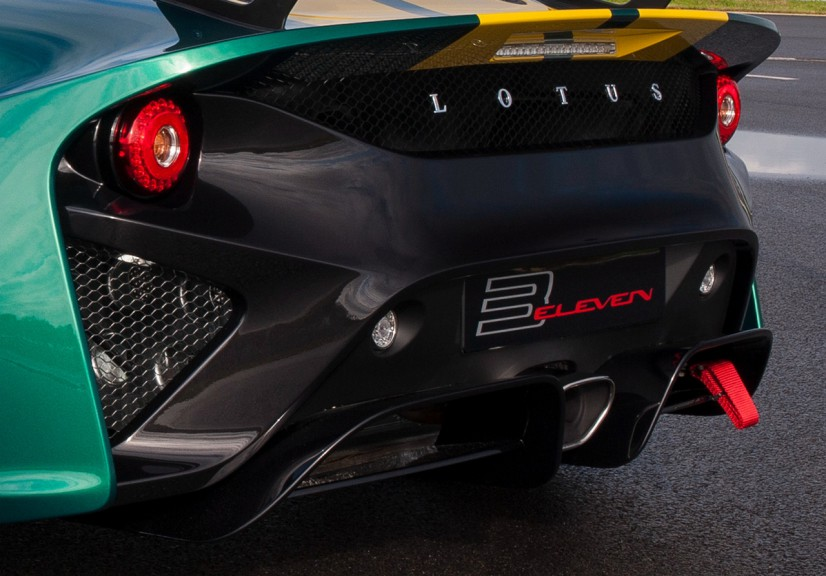 Lotus 3 Eleven arriere