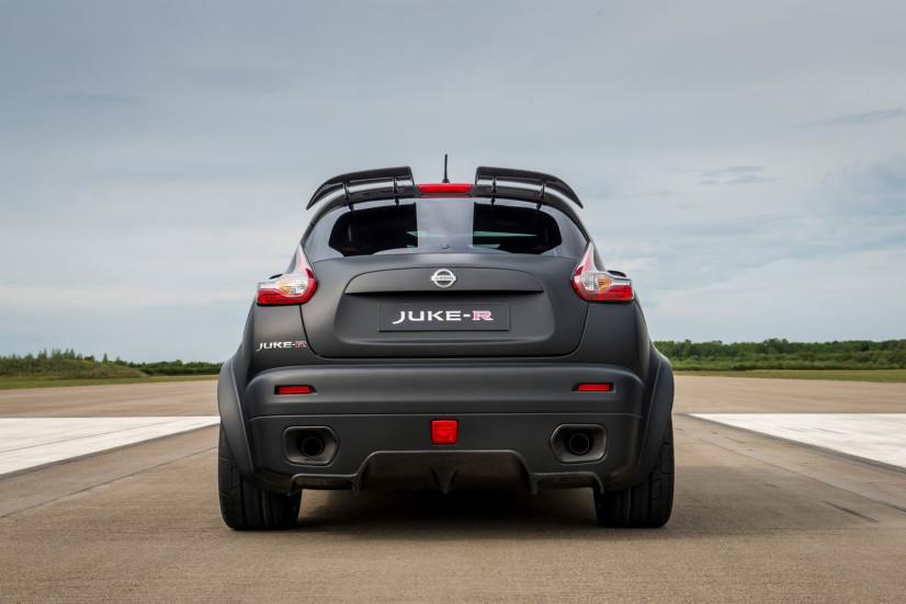 Face arrière Nissan JUKE R 2.0
