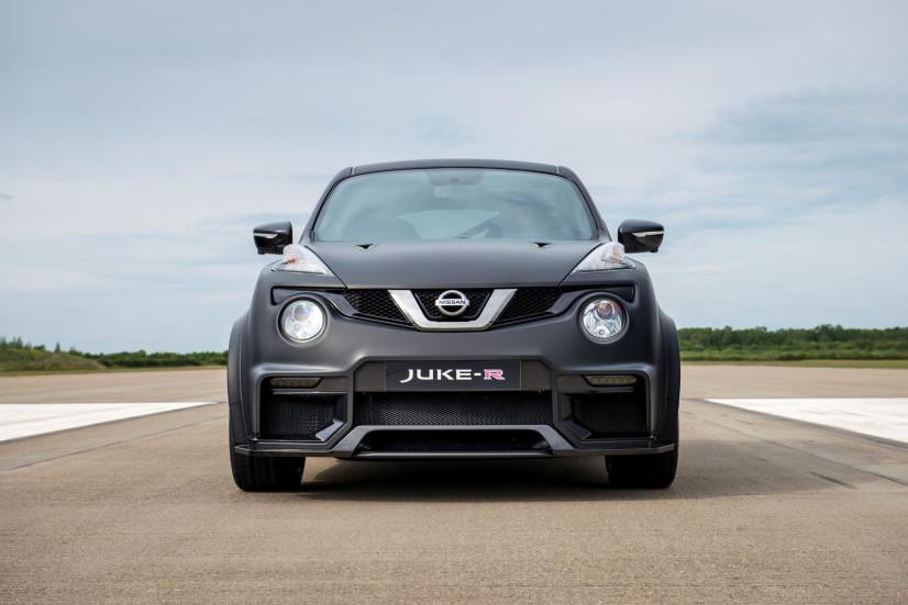 Face avant Nissan JUKE R 2.0