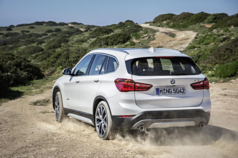 BMW X1 profil