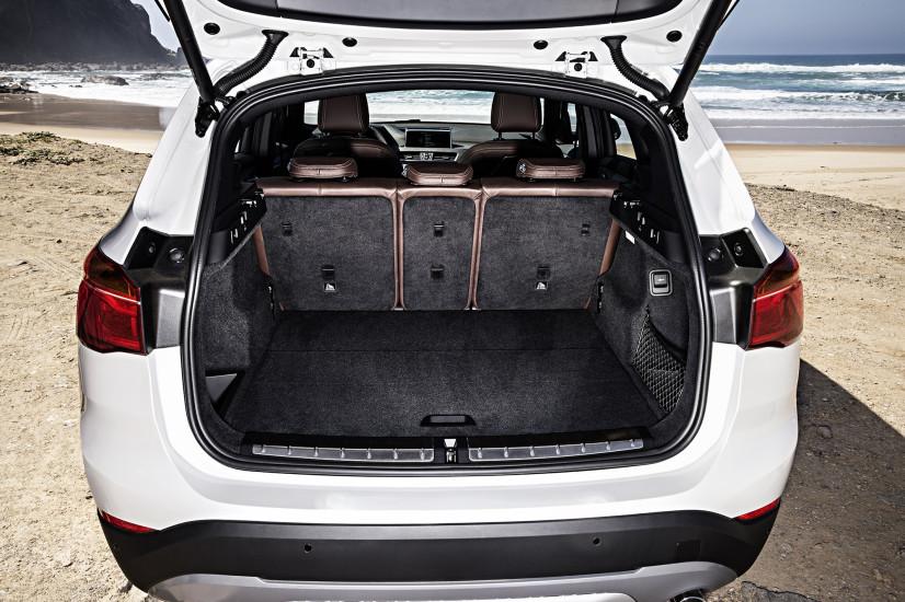 BMW X1 coffre