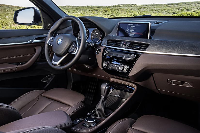 BMW X1 intérieur