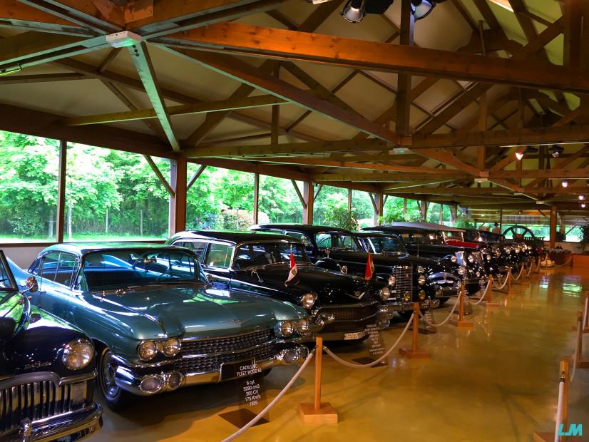 Lohéac voitures des présidents