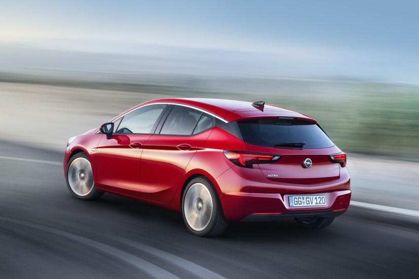 arrière Opel Astra 2015