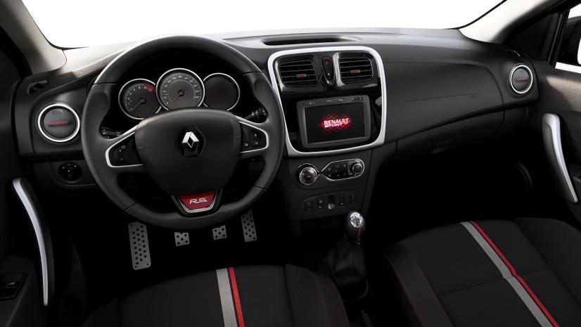habitacle Renault Sandero RS