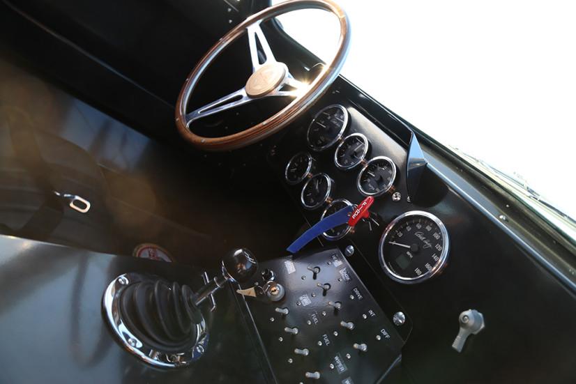 Shelby Coupé Cobra Daytona intérieur