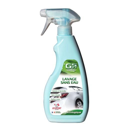 GS27 lavage sans eau
