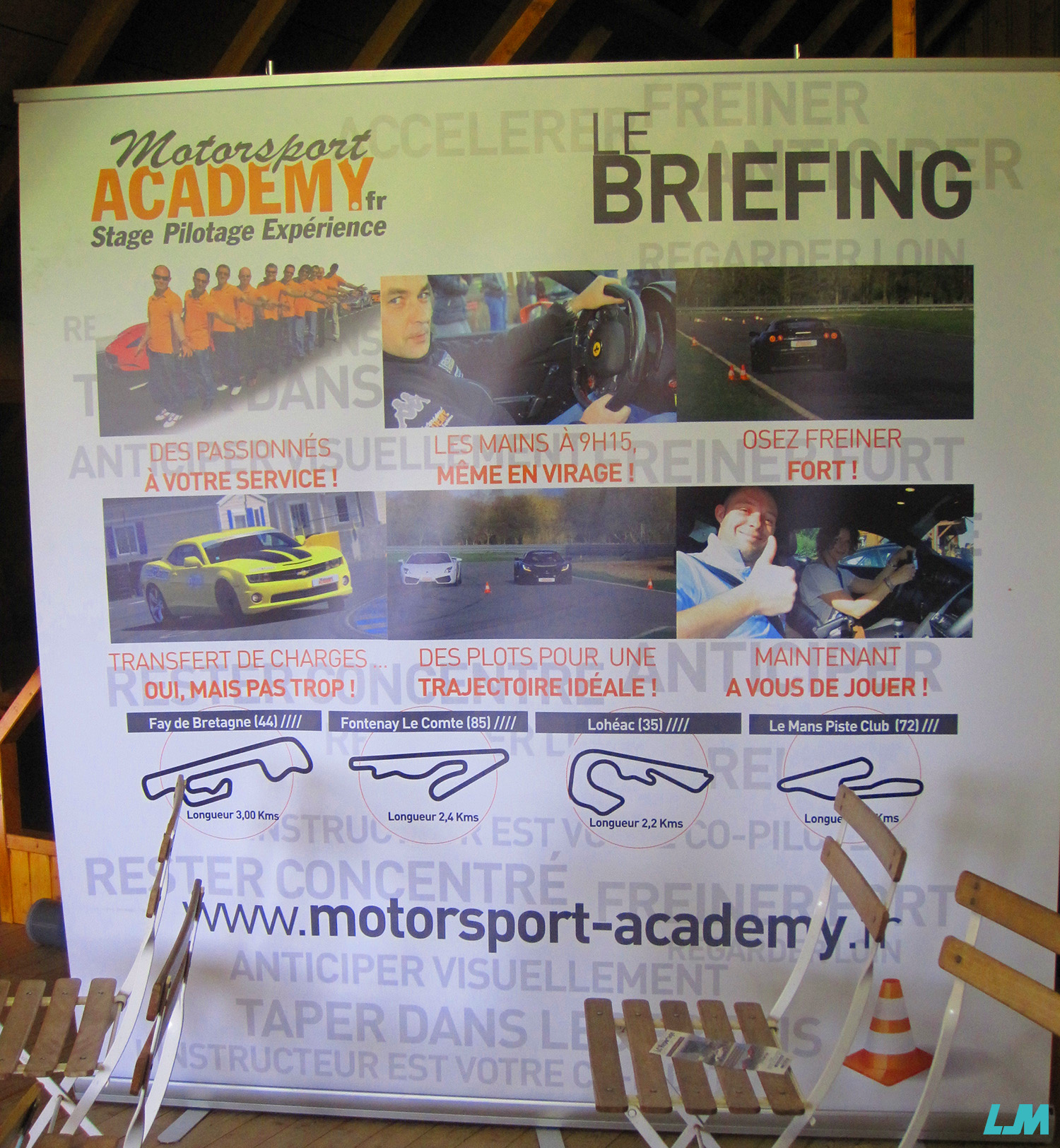 Briefing Motorsport Academy