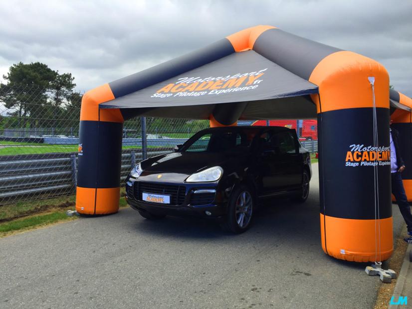 Motorsport Academy Porsche Cayenne GTS