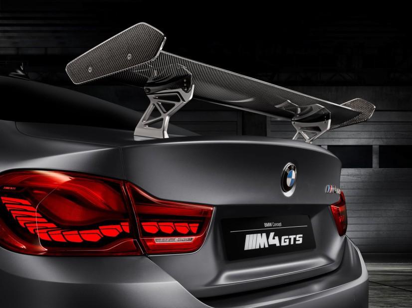 M4 GTS Concept aileron arrière