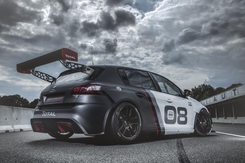 308 Racing Cup arrière