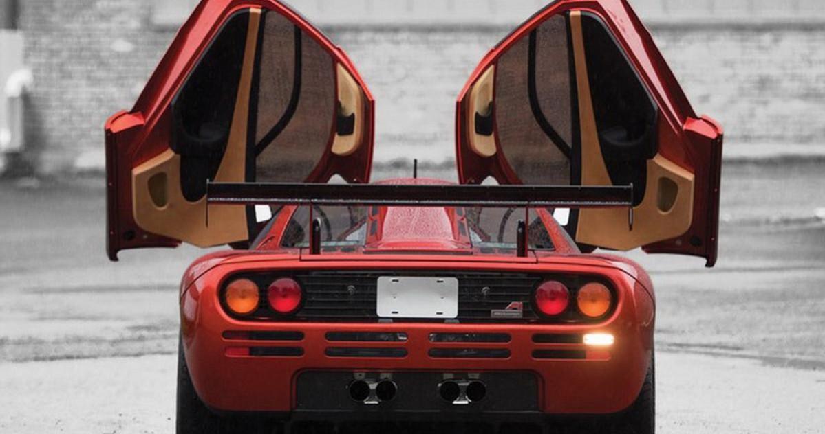 McLaren F1 LM arrière