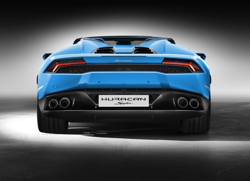 Lamborghini Huracan LP610-4 Spyder arrière