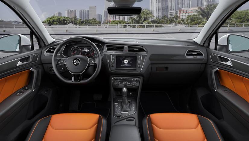 Volkswagen Tiguan 2016 habitacle