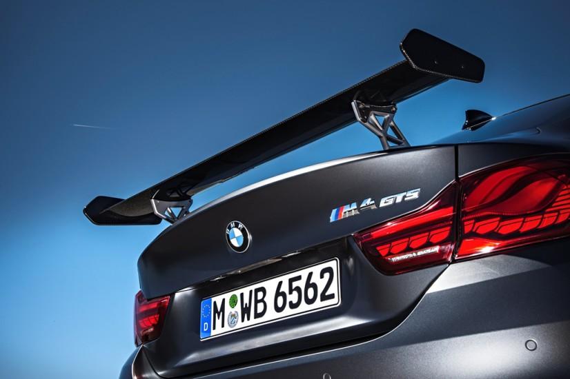 BMW M4 GTS aileron