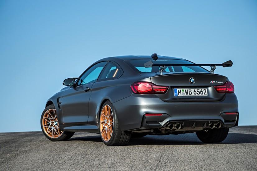 BMW M4 GTS arrière