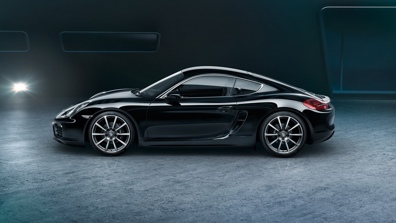 enfin une porsche cayman black edition. Black Bedroom Furniture Sets. Home Design Ideas
